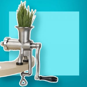 Miracle Exclusives Stainless Steel Wheatgrass Juicer MJ445