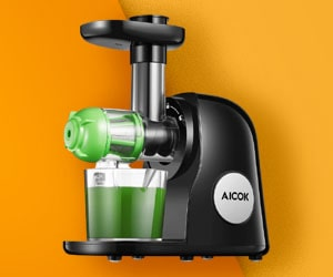 Aicok Slow Masticating Juicer for Celery
