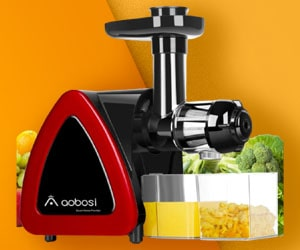 Aobosi - Best Celery Masticating Juicer
