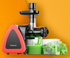 Homeover - Best Masticating Juicer
