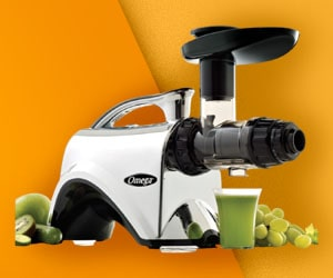 Omega NC900HDC - Slow Masticating Juicer for Celery