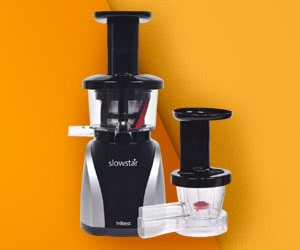 Tribest SW-2020 Slow Vertical Juicer