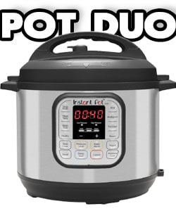 Pot Duo 7-in-1 Electric pressure cookers with stainless steel inner Pot